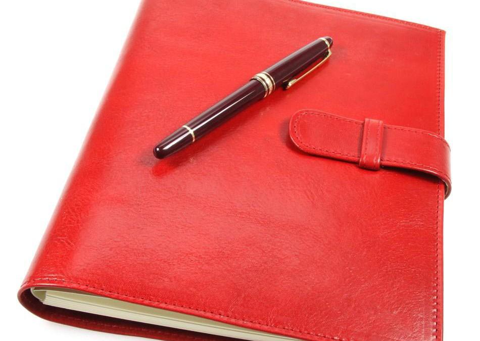Мой красный ежедневник